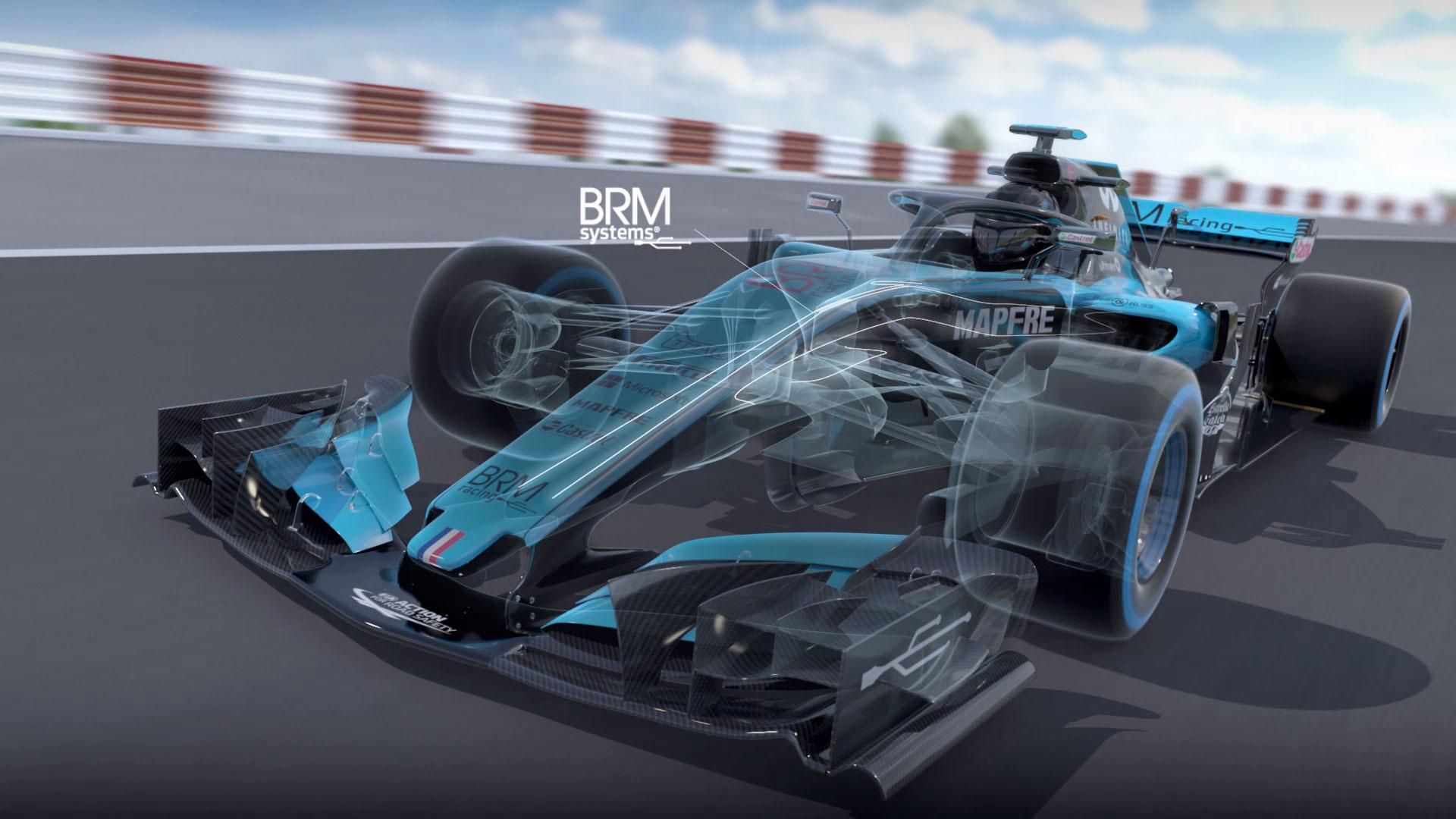 F1 TRANSPARENTE